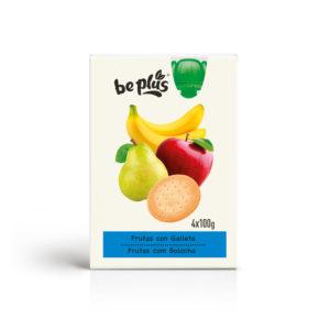 Pouch Frutas con galleta 4u